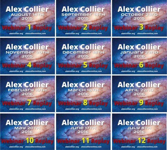 Alex Collier Online - Webinar Group